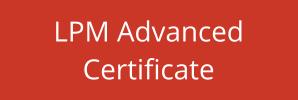 LPM Advanced Certificate