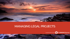 Managing Legal Projects
