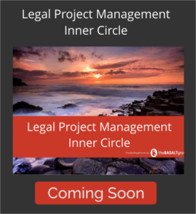 Legal Project Management Inner Circle