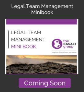 Legal Team Management Minibook