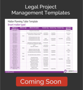 The Basalt Group - Legal Project Management Templates