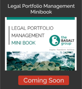 The Basalt Group - Legal Portfolio Management Minibook